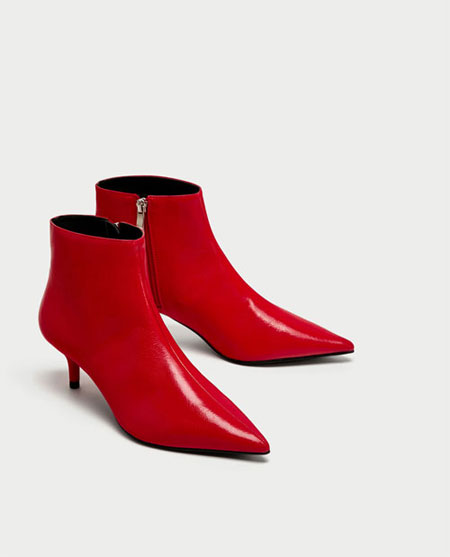 LOVIKA | Red ankle boots #booties #shoes #trending