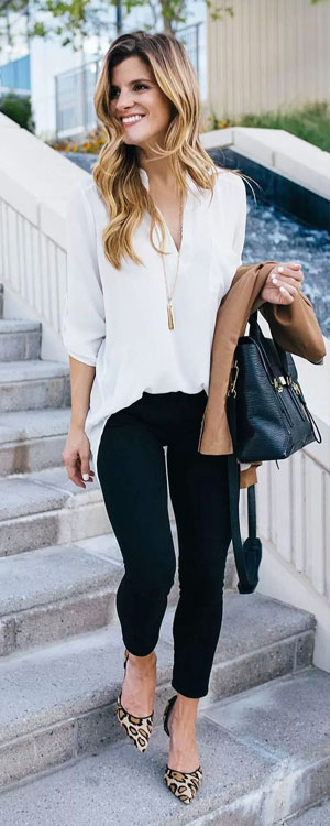 LOVIKA | 25 Chic Business-Casual Work Outfits for Fall