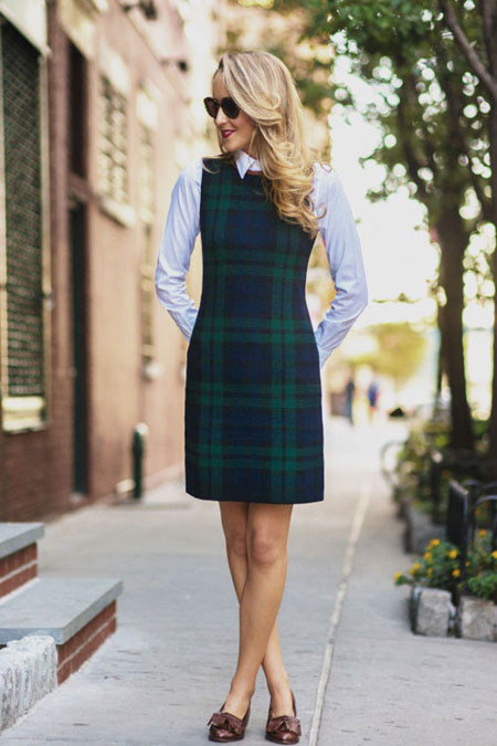 LOVIKA | 25 Chic Business-Casual Work Outfits for Fall #dress