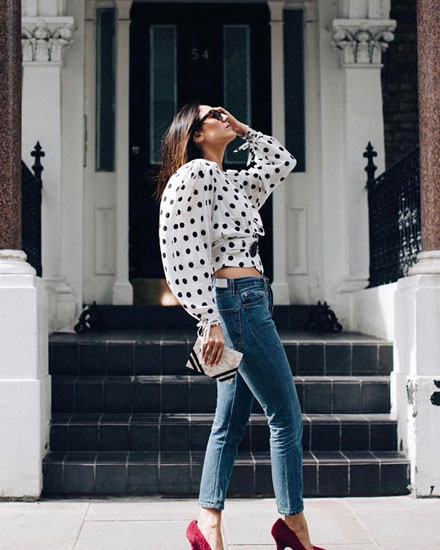 Fashion trends - Polka dots #trending