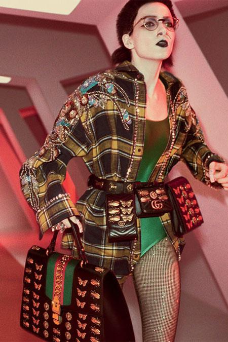 LOVIKA | Gucci bags from Fall-Winter 2017 ad campaign #handbag