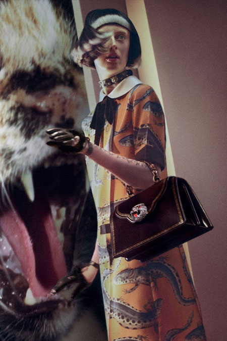 LOVIKA | Gucci Gatto Bamboo bags from Fall-Winter 2017 handbag collection