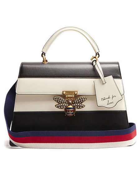 LOVIKA | Gucci Queen Margaret bags from Fall-Winter 2017 ad campaign #handbag