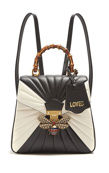 LOVIKA | Gucci Queen Margaret bamboo bags from Fall-Winter 2017 ad campaign #handbag