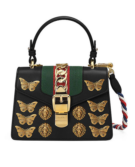 LOVIKA | Gucci Sylvie bags from Fall-Winter 2017 ad campaign #handbag