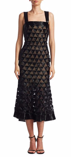 LOVIKA | Oscar de la Renta Triangle Cocktail Dress
