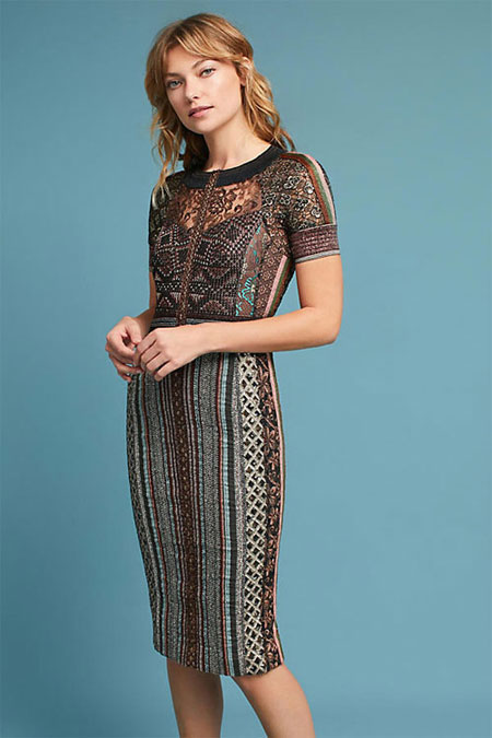 Anthropologie Nobility dress