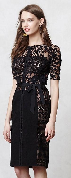 Anthropologie Carissima sheath dress