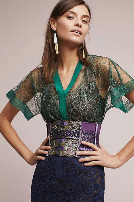 Anthropologie Camille dress