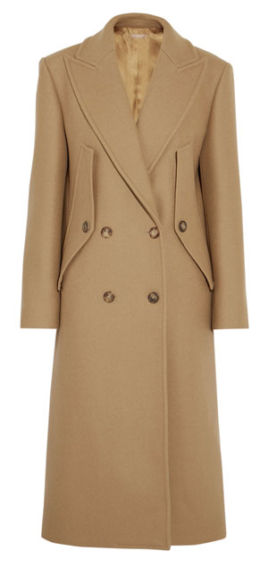 MICHAEL KORS COLLECTION Double-breasted wool coat