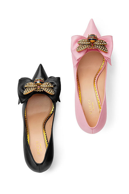 LOVIKA | Gucci shoes from pre-spring 2018 #resort #loafers #sandals #pumps
