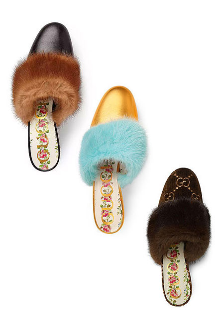 LOVIKA | Gucci shoes from pre-spring 2018 #resort #mules #slides #slippers
