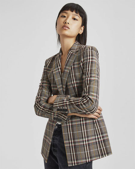 LOVIKA | Trending Now - Oversized blazer #checked #boyfriend