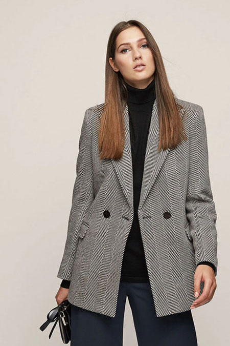 LOVIKA   Trending Now - Oversized blazer #checked #boyfriend