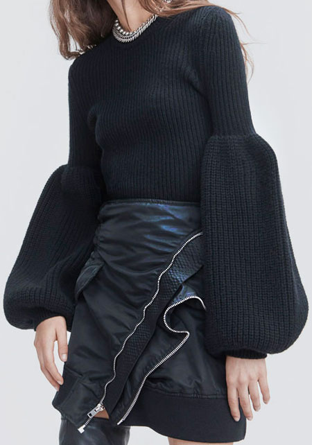 Lovika Style Crush - Alexander Wang Bishop Sleeve Sweaters and Cardigans