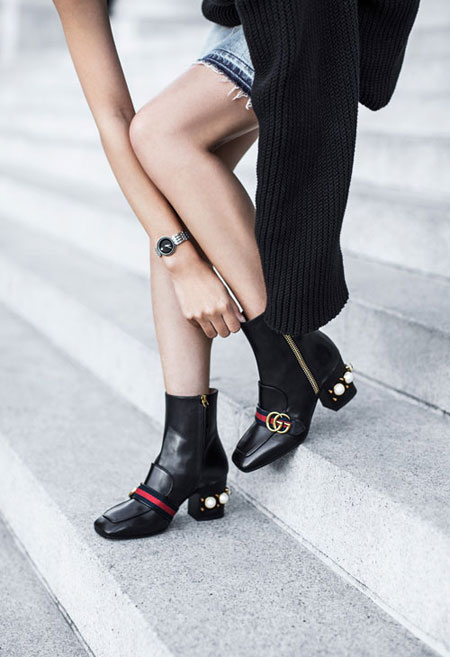 7 Stylish Black Ankle Boots That Are