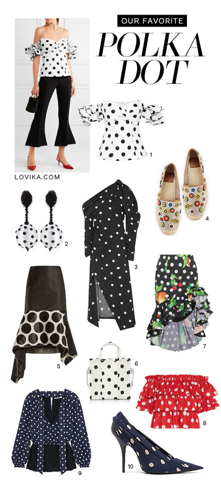 LOVIKA | Trending now - Polka dots #dress #clothing #outfit