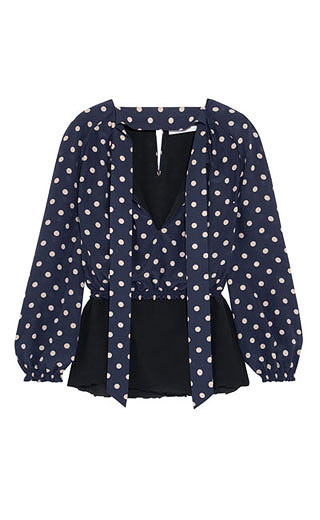 LOVIKA | Polka dot blouse #top #clothing