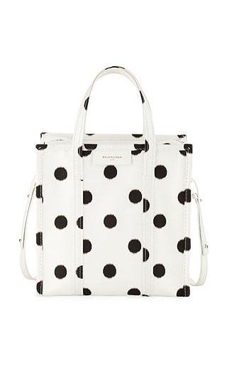 LOVIKA | Polka dot bag #handbag #tote #balenciaga
