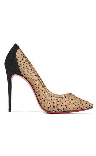 LOVIKA | Polka dot shoes by Christian Louboutin #pumps #heels #trending