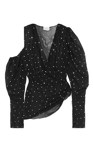 LOVIKA | Polka dot blouse #top #clothing