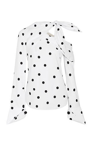 LOVIKA | Polka dot blouse #top #clothing #trending
