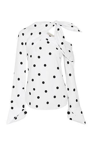 LOVIKA | Polka dot blouse #top #clothing #trending