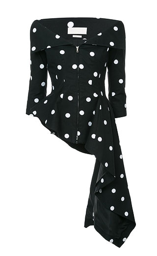 LOVIKA | Polka dot blouse #clothing #outfit #blouse