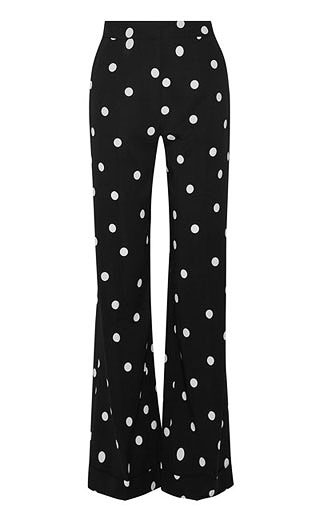 LOVIKA | Polka dot wide leg pants #clothing #monse
