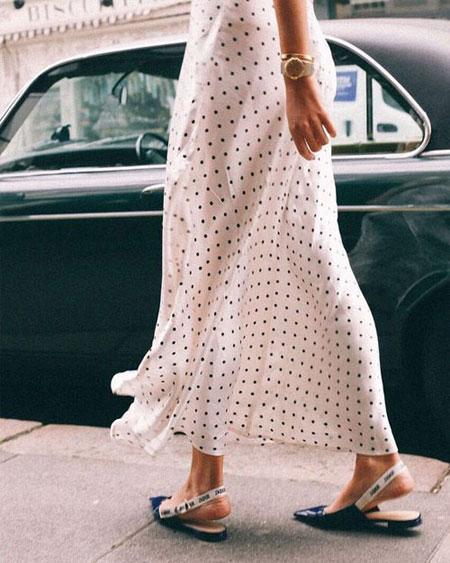 LOVIKA | Polka dot blouse outfit ideas #trending