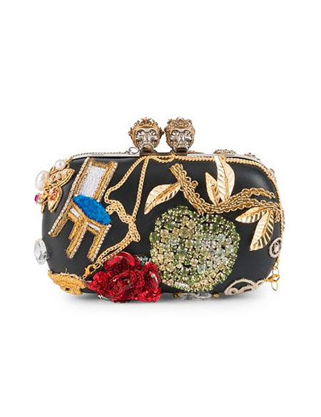 This Is What a Stunning Evening Clutch Looks Like - Alexander McQueen clutch bags