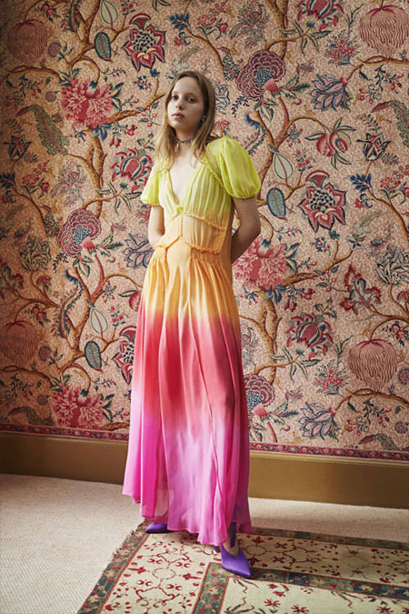 Looks So Good - Attico Editorial Lookbook #SS18 #dresses #colors