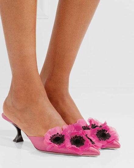 6 Best designer spring floral shoes #mules #pumps #loafers