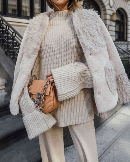 Parisian chic essential - Chloe quilted drew bags