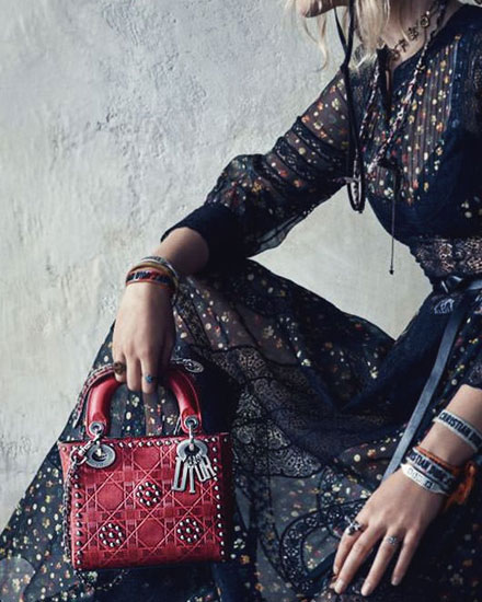 "Dior ""Lady Dior"" bags finally available at bergdorf goodman"