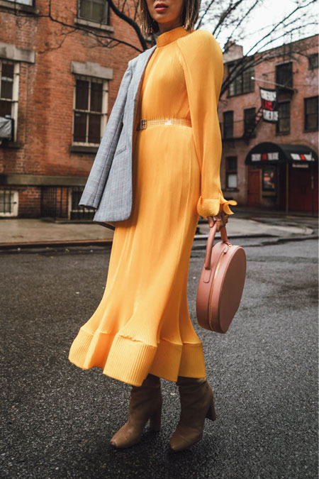 Everyone's Wearing - Tibi Pleated Dress | LOVIKA