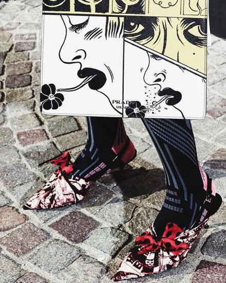 Style Crush – Prada Rebellious Bow Pumps