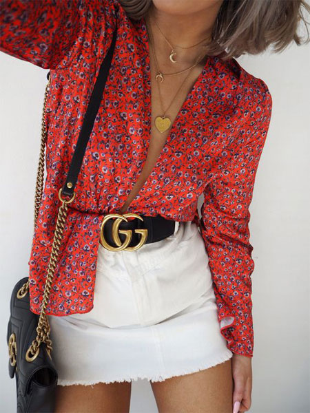 Outfit ideas - How to wear Gucci belt for Summer