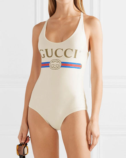 Hot! Gucci One-Piece Swimsuit