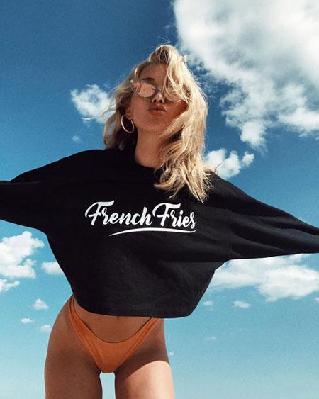 Lovika Insta 10 - Elsa Hosk | Bikini body motivation for summer
