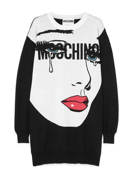 LOVIKA | Moschino 'Crying Girl' Tops