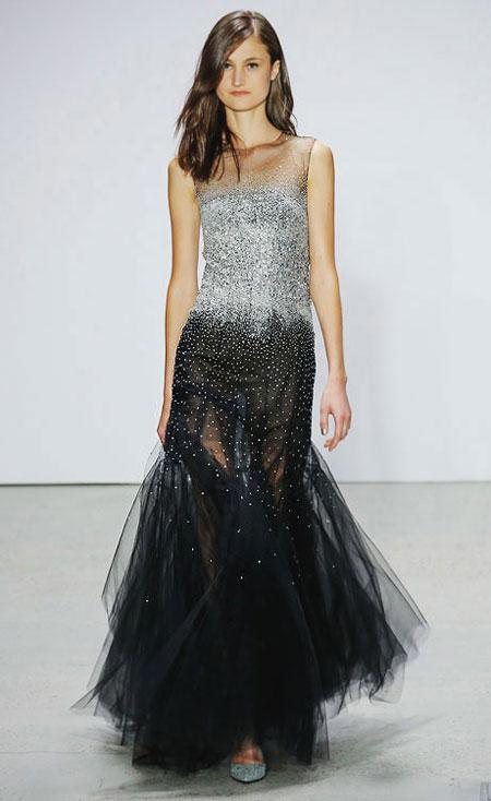 Looks So Good: Oscar de la Renta stunning evening gowns #runway #ss18 #dresses