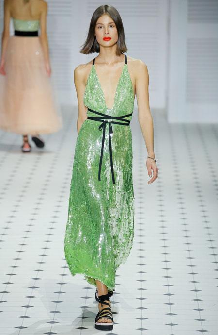 Runway It Report - Temperley London dresses from Spring-Summer 2018 Runway #dressy #cocktaildresses