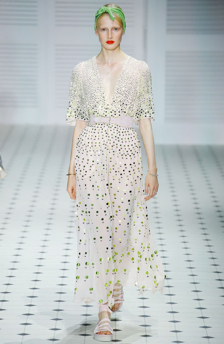 Runway It Report - Temperley London dresses from Spring-Summer 2018 Runway #dressy #cocktaildresses