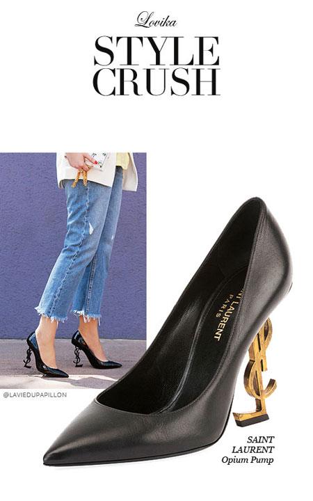 Lovika Style Crush - Saint Laurent Opium heels #pumps #sandals