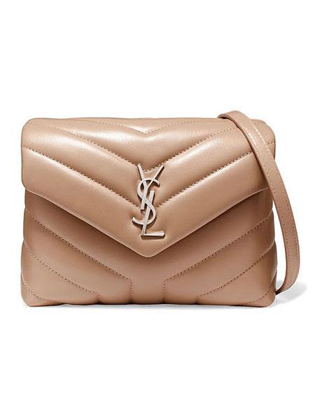 Saint Laurent Toy LouLou monogram quilted shoulder crossbody bag