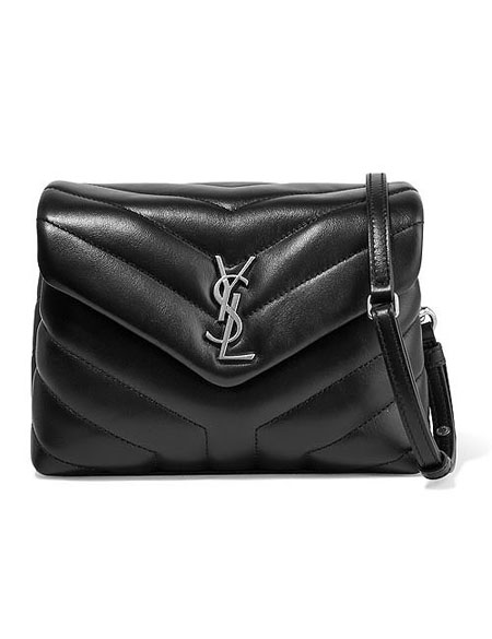 Saint Laurent Toy LouLou monogram quilted shoulder crossbody bag