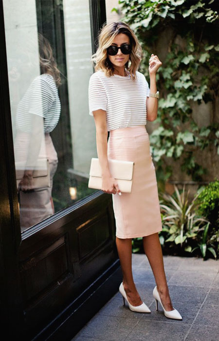 c04e17a8bf 13 Spring Outfits for Work - We Love These Perfectly Casual Business ...