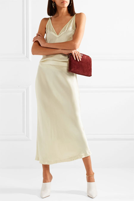 White mules outfit ideas #loafers #outfits #OOTD #spring #summer