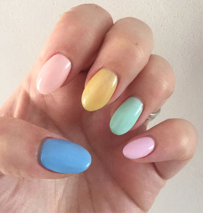27 Easy Pastel Rainbow Nails To Copy Get These Colors